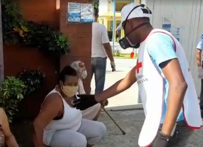 Cruz Roja Dominicana se suma a labores de seguridad sanitaria y distanciamiento físico en escuelas